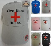 Give Blood He Did