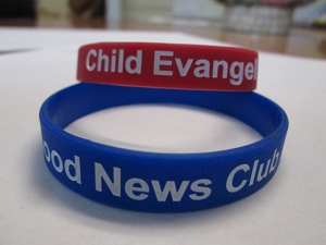 Good News Club and CEF Wristbands