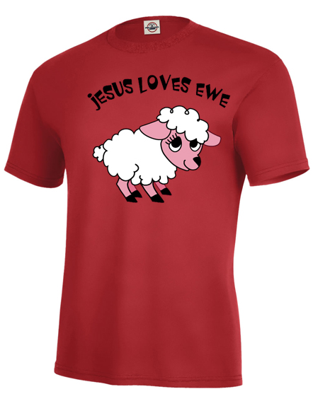 Jesus Loves Ewe