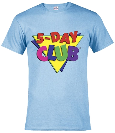 5day Club T-shirt