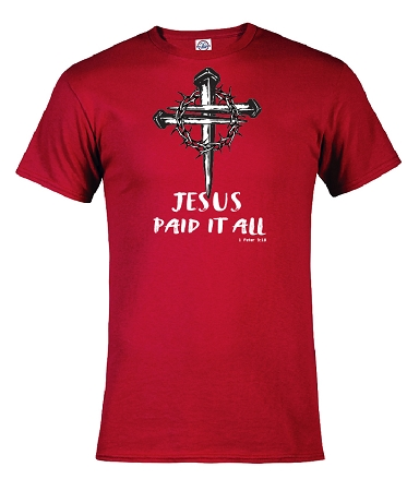 Jesus paid it all  1Peter 3:18