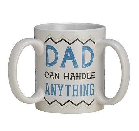 Get A Grip Dad Mug 3 Handle