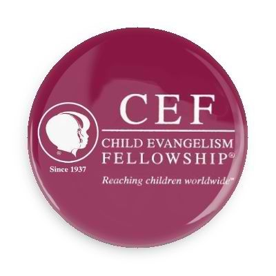 CEF Child Evangelism Fellowship Button