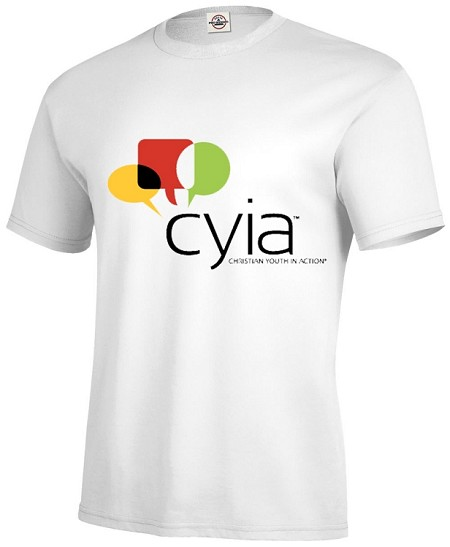 CYIA in white or ash gray