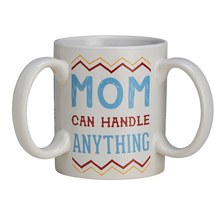 Get A Grip Mom Mug 3 Handle