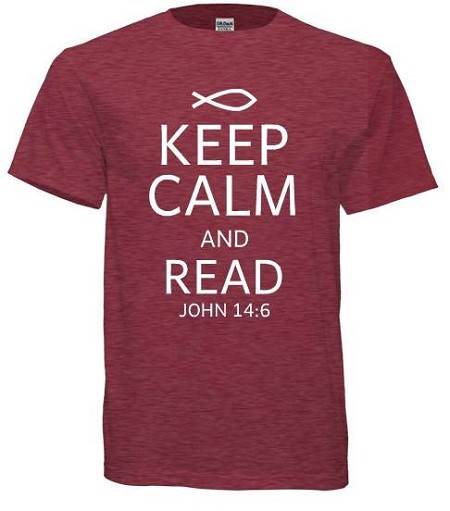 Keep Calm and Read John 14 6