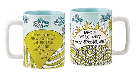 Very Special Day Mug-color w/oil based marker to personalize